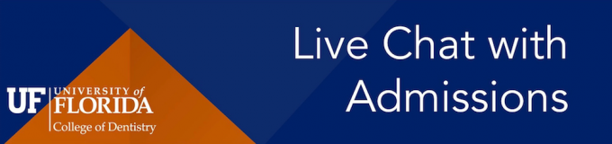 Live Chat with Admissions banner