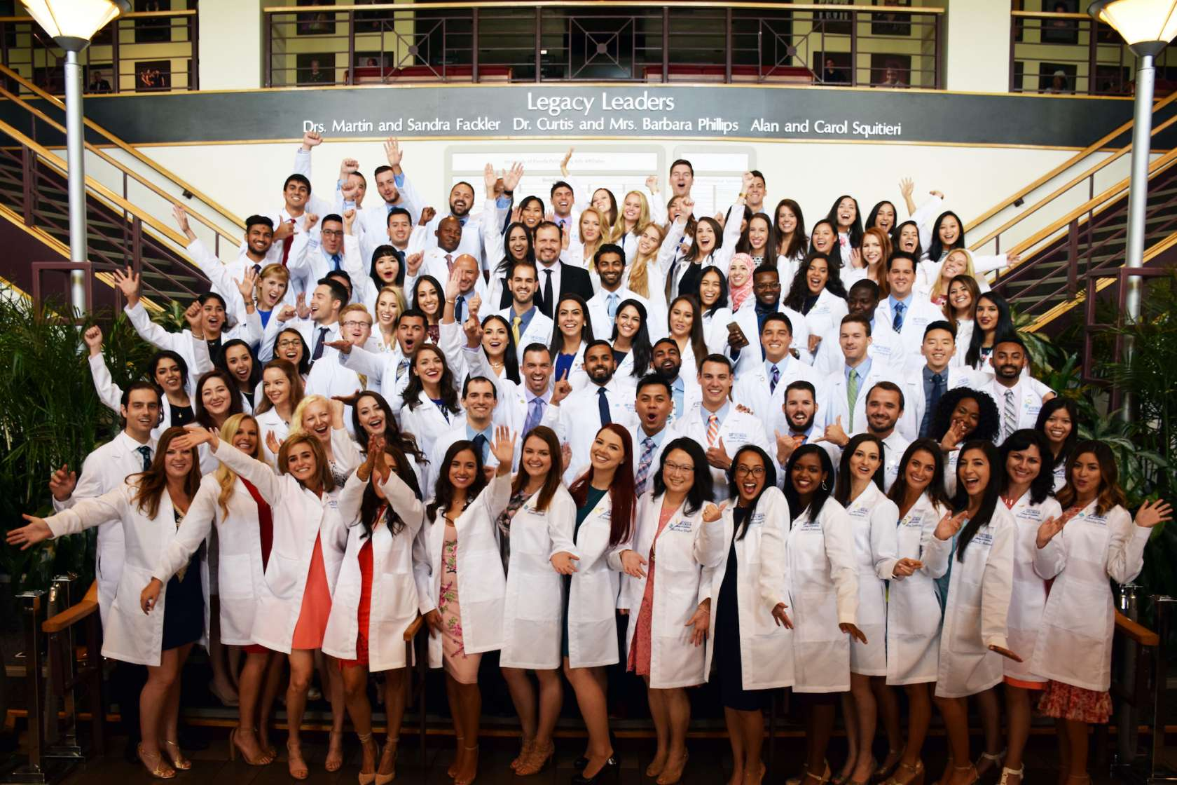 Class of 2019 white coat ceremony