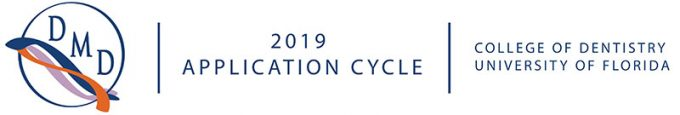 UFCD DMD 2019 application cycle banner.