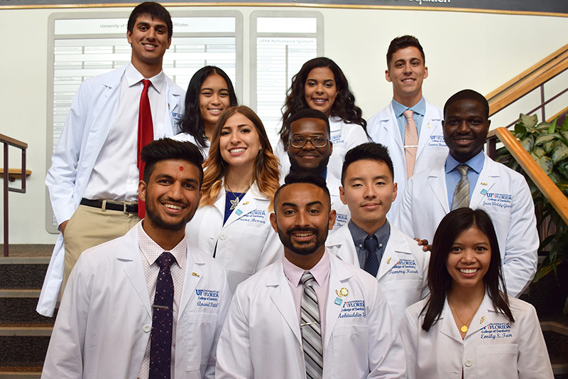 Class of 2019 at their white coat ceremony.